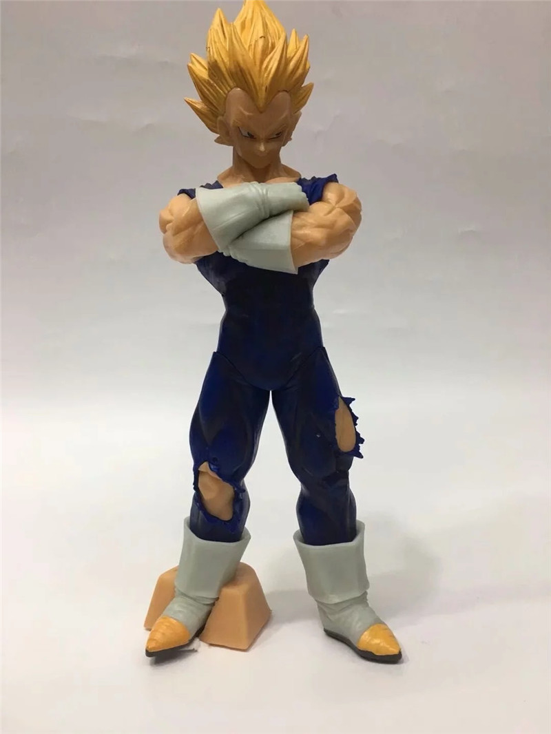 New Anime Dragon Ball Z Vegeta Action Figure Toys Resolution Of Soldiers Super Saiyan Vegeta Figuras Dolls Brinquedos 28cm (4)