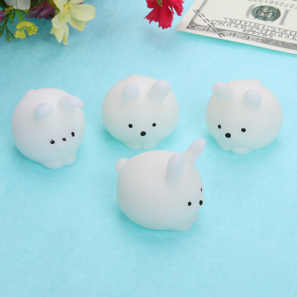 Anti-stress Squeeze Ball Toy Seals Owl Emotion Vent Ball Resin Doll Antistress Stress Reliever Toys for Adults Children
