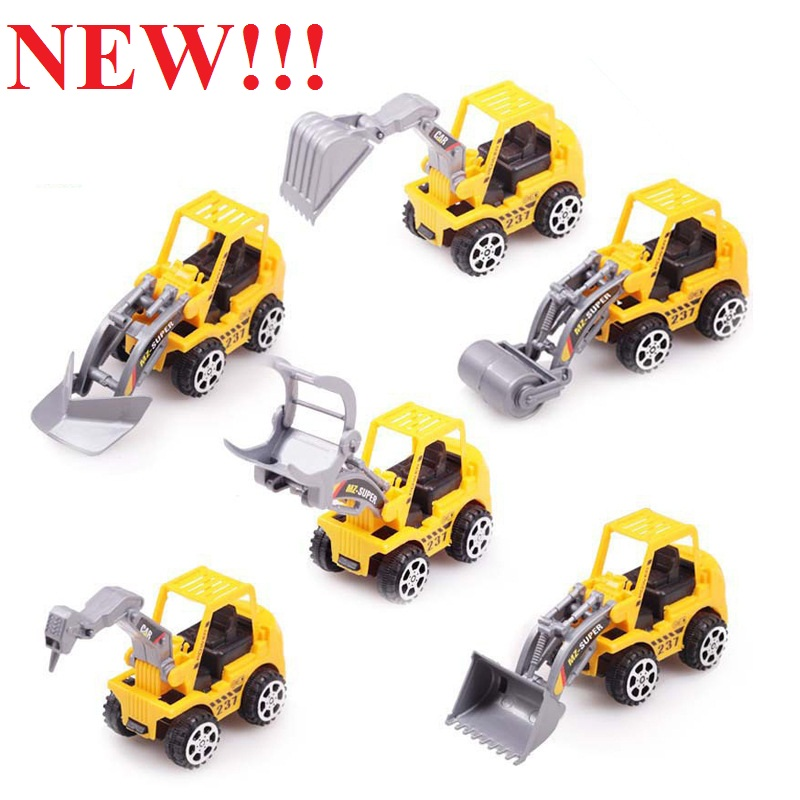 HOT SALES Best Gift Truck model toy 6 kinds of style Cute car Toy for Child Mini Car Model Kids Toys