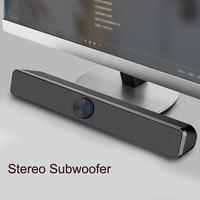 SADA V 193 Desk USB Speaker Mini 3D Surround Subwoffer Stereo Bass PC Computer Speakers Soundbox Loudspeaker for Phone Notebook