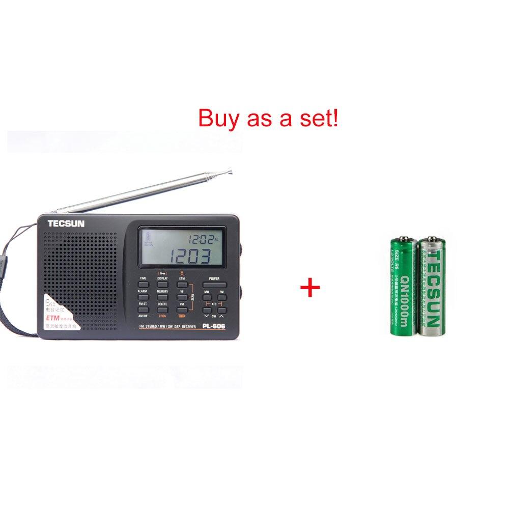 Image 5 - Tecsun PL 606 Digital PLL Portable Radio FM Stereo/LW/SW/MW DSP Receiver Black-in Radio from Consumer Electronics