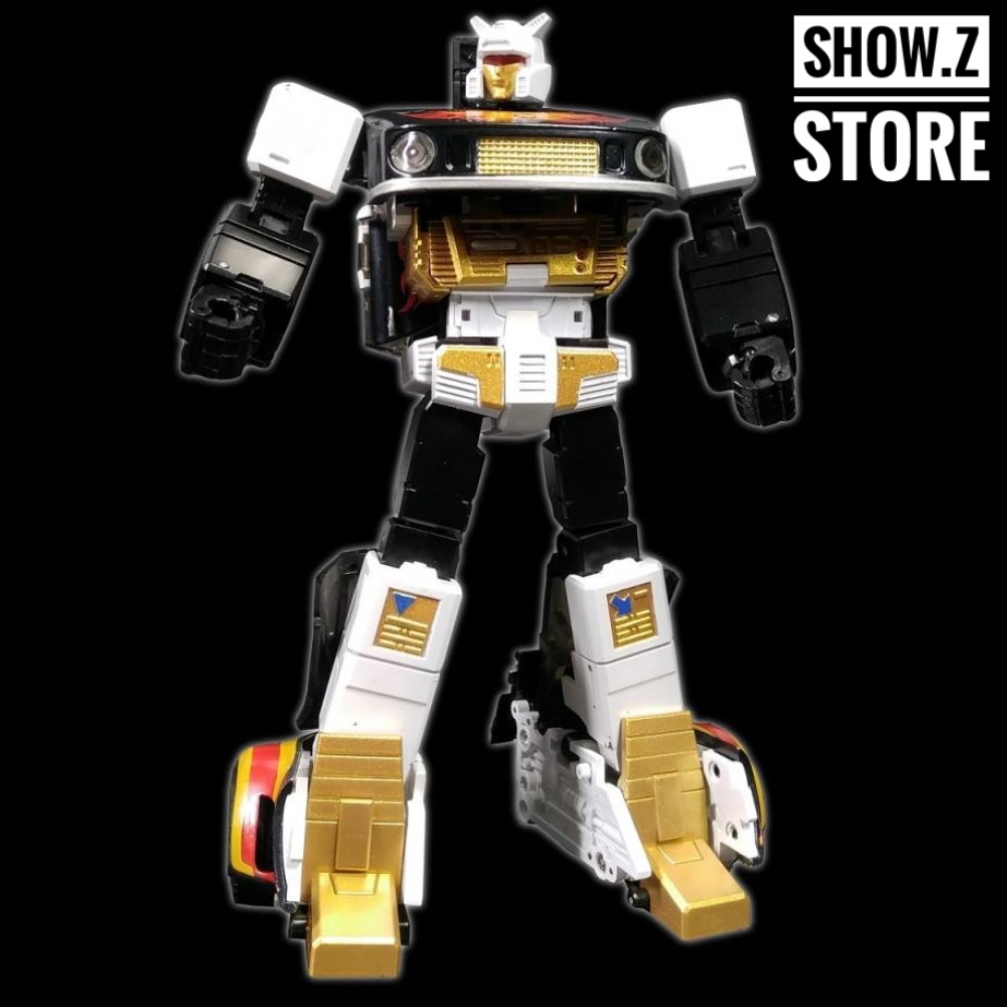 [Show.Z Store] Zeta Toys EX-03B Jazzy Jazz Ricochet Black Version Transformation Action Figure Masterpiece MP