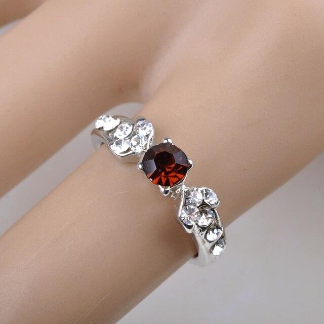 New Wholesale Mix 10 Pcs Wholesale Jewelry Lots style Mixed Lots Crystal Rhinestone Kid Children Rings
