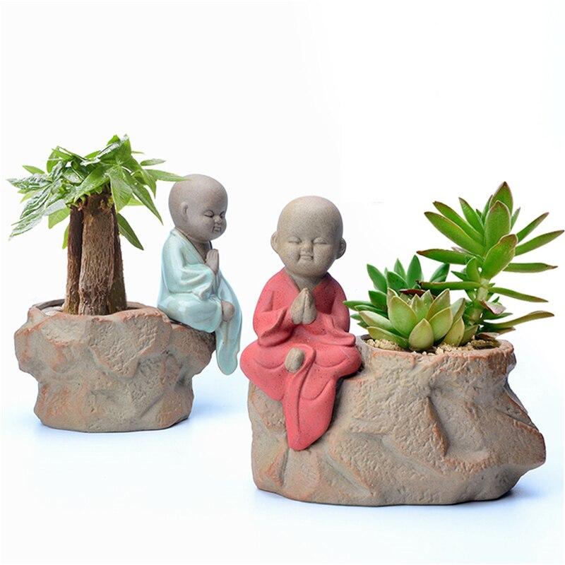 New 2017 Small Ceramic Garden Supplies Flower Pot Planter