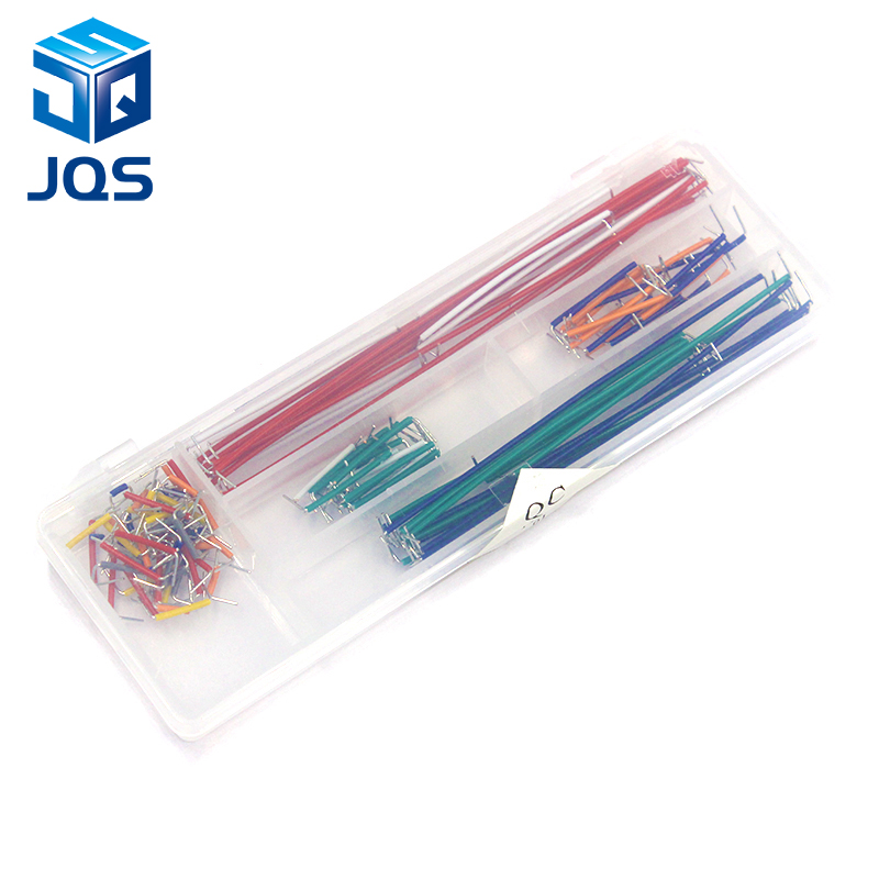 Hot Sell 140 pcs U Shape Solderless Breadboard Jumper Cable Wire Kit For Arduino Shield For raspberry pi Drop ShippingHot Sell 140 pcs U Shape Solderless Breadboard Jumper Cable Wire Kit For Arduino Shield For raspberry pi Drop Shipping