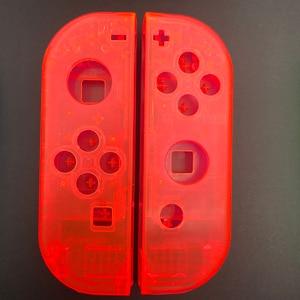 Image 3 - Clear Behuizing Vervanging Shell Case Cover & Kleurrijke Een B X Y Knop Voor Nintendo Switch Controller Vreugde Con