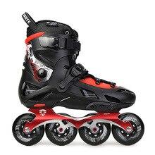 مزلجة تزلج أصلية أصلية من اليابانية لعام 100% طراز F7S مزلجة مضمنة حذاء تزحلق على الجليد للبالغين طراز Slalom حذاء تزلج مجاني