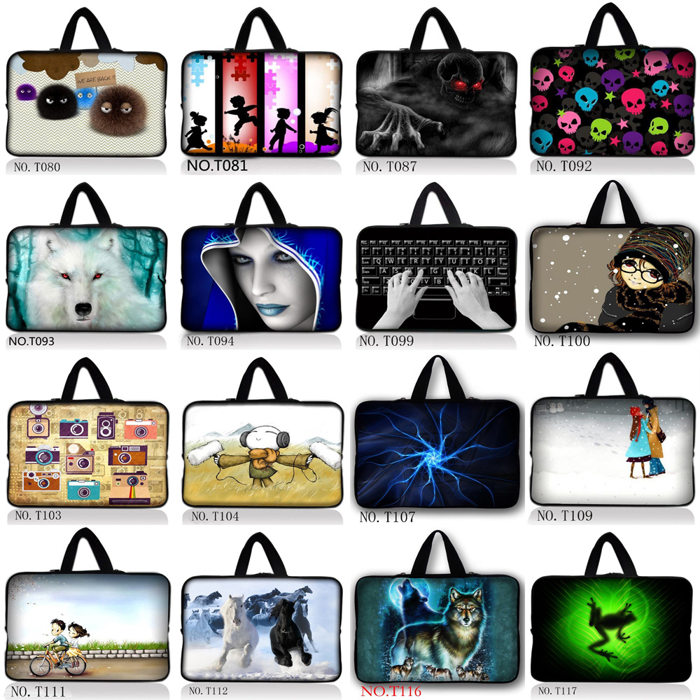2016 New Laptop Sleeve Bag Case Carrying Handle Bag For 11 13 13.3 14 14.1 15 15.4 15.6  ...