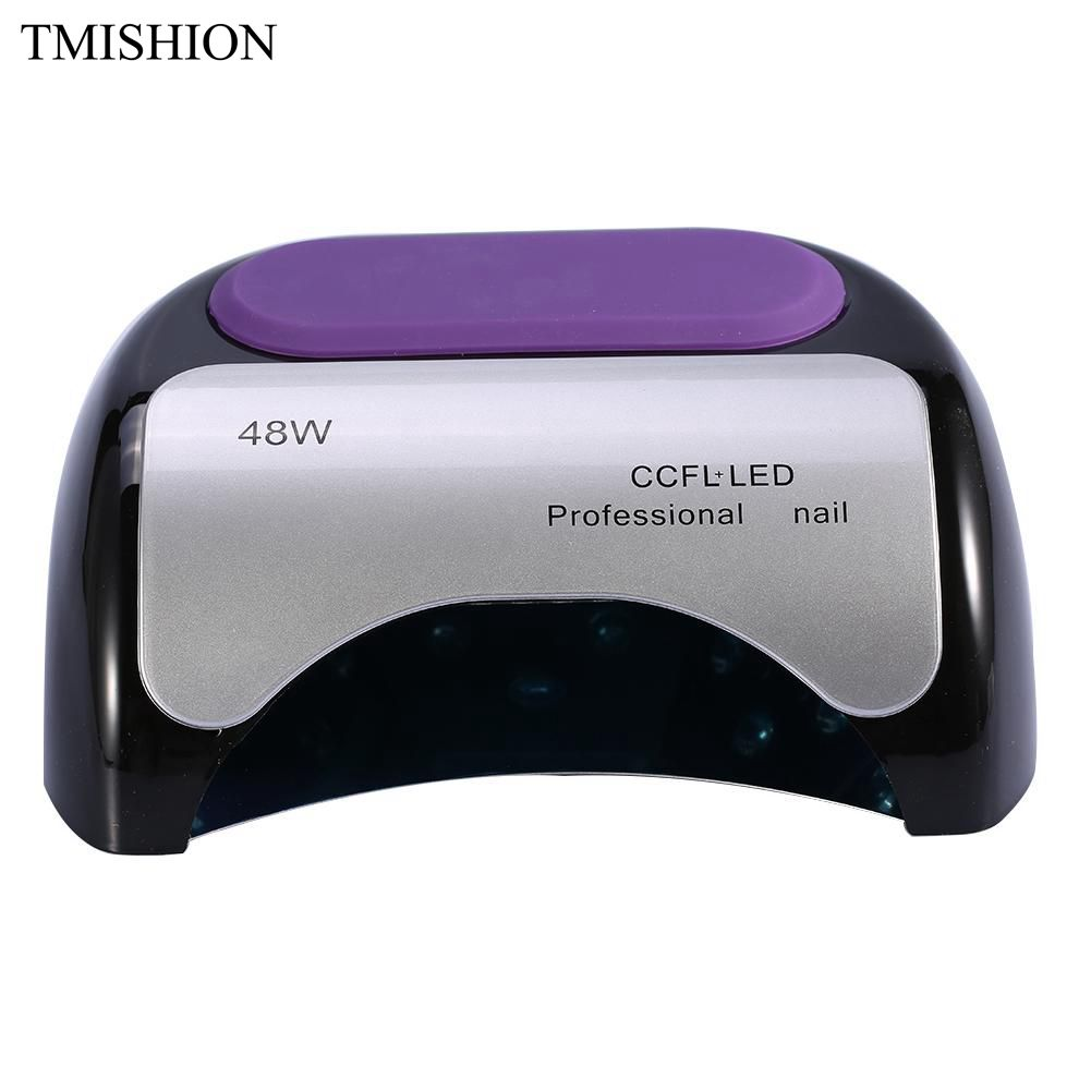 TMISHION 48W CCFL UV Gel Lamp LED Light Nail Dryer For Curing Nail Polish Gel Nail Art Dryer Auto-induction Manicure Nail Tool 36w nail dryer sun8se uv led nail lamp sunlight nail gel dryer lcd display curing gel polish manicure drying lamp nail art tool