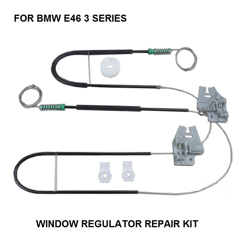 FOR BMW E46 3 SERIES WINDOW REGULATOR REPAIR KIT FRONT LEFT/RIGHT 2001-2005