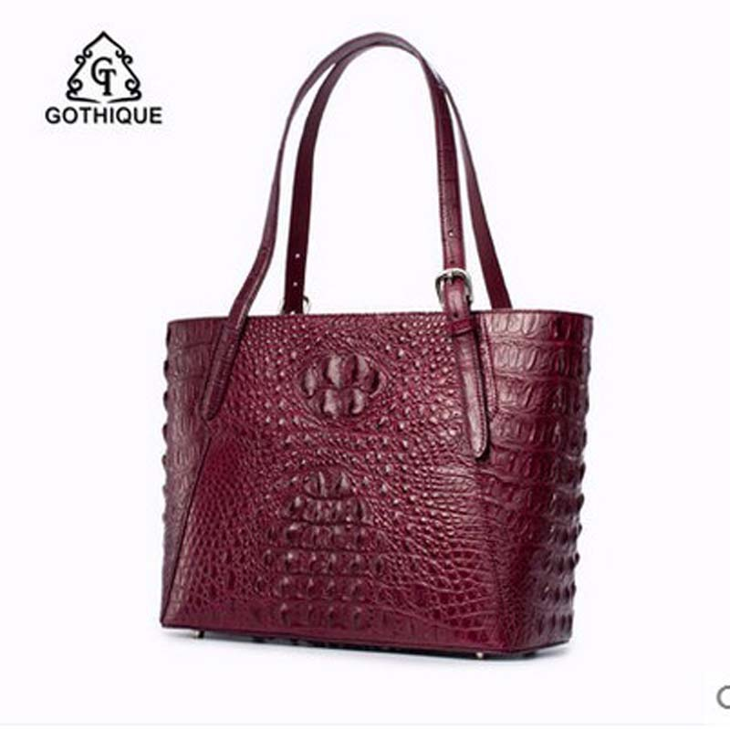 gete imported new Thailand REAL crocodile women handbag fashion  leather single shoulder bag women handbag стулья для салона thailand such as