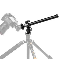 K&F Concept Magnesium Alloy 32CM Camera Tripod Stand Fixable External Rotatable Multi-Angle Center Column with Locking System