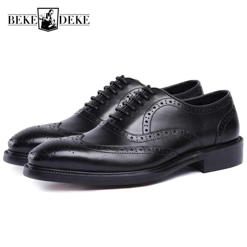 008d8558e4538c as En Hombre Noir Robe Formelle Bout Black Cuir D'affaires Mode Chaussures  Mariage Hommes Zapatos Pic Pointu Véritable ...