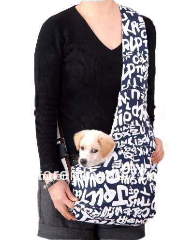 New Blue Pet Sling Carrier Dog Cat Carrier dog carrier Free Shipping Retail puppy dog sling carrier bag