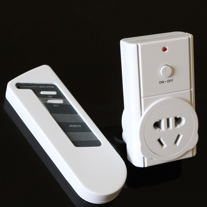 Wholesale wireless intelligent remote control switch socket learning and memory function high power 220v 10A 2200W free shipping intelligent tuning and adaptive control
