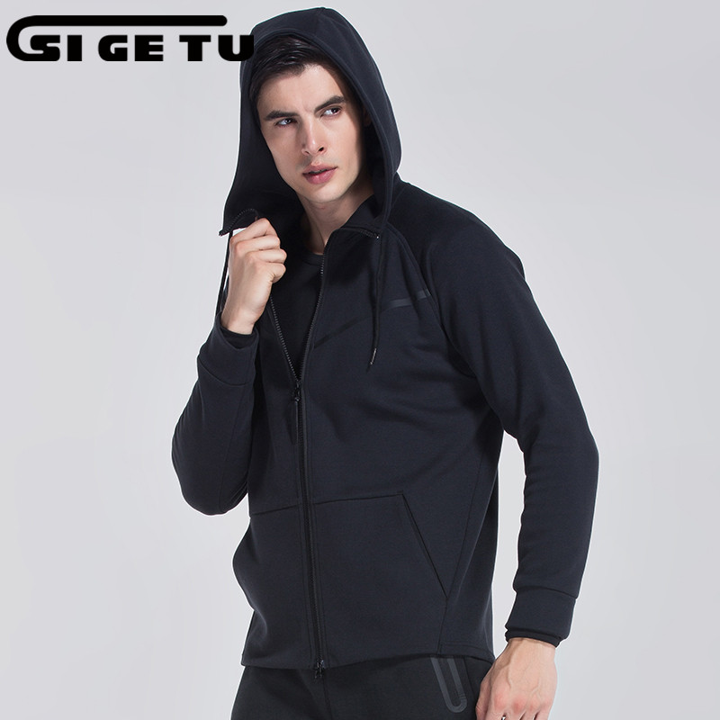 Cotton Winter Running Jacket Men Breathable Quick-drying Running Jersey Wind Coat Protect Hooded Running Jacket For MenCotton Winter Running Jacket Men Breathable Quick-drying Running Jersey Wind Coat Protect Hooded Running Jacket For Men