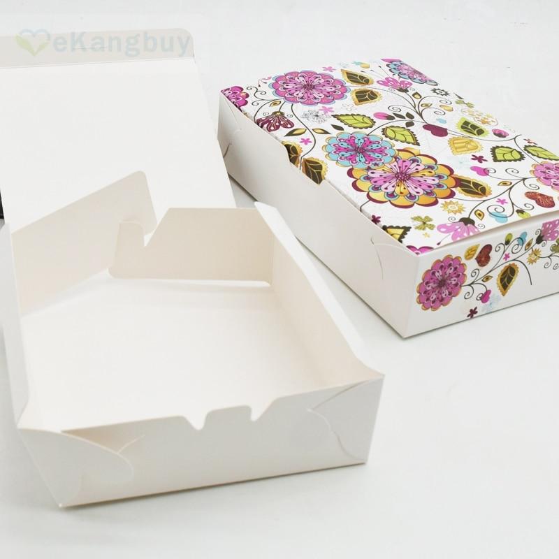 25 Stücke Floral Papier Box Kuchen Box Schokolade Muffin