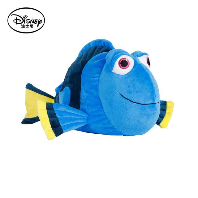 Disney Dory Fish Plush Stuffed Doll Toy Pillow Cushion With Portable Rest Warm Blanket Children Cartoon Toys Peluches Juguetes
