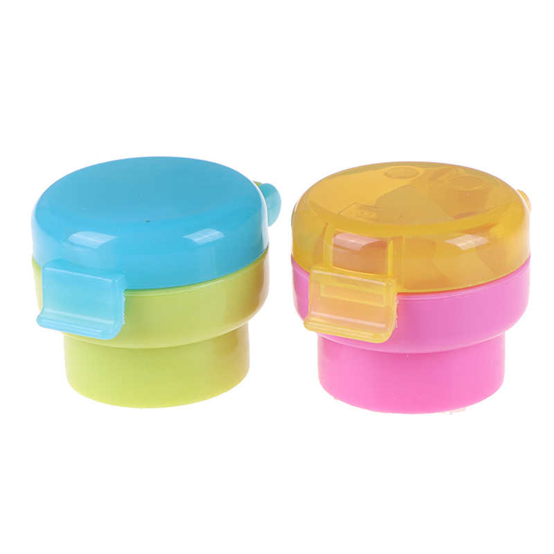Portable No Spill Choke Water Bottle Cups Adapter Cap With Tube Drinking Straw For Baby Infants Kid Easy Hygiene Drink Feeder