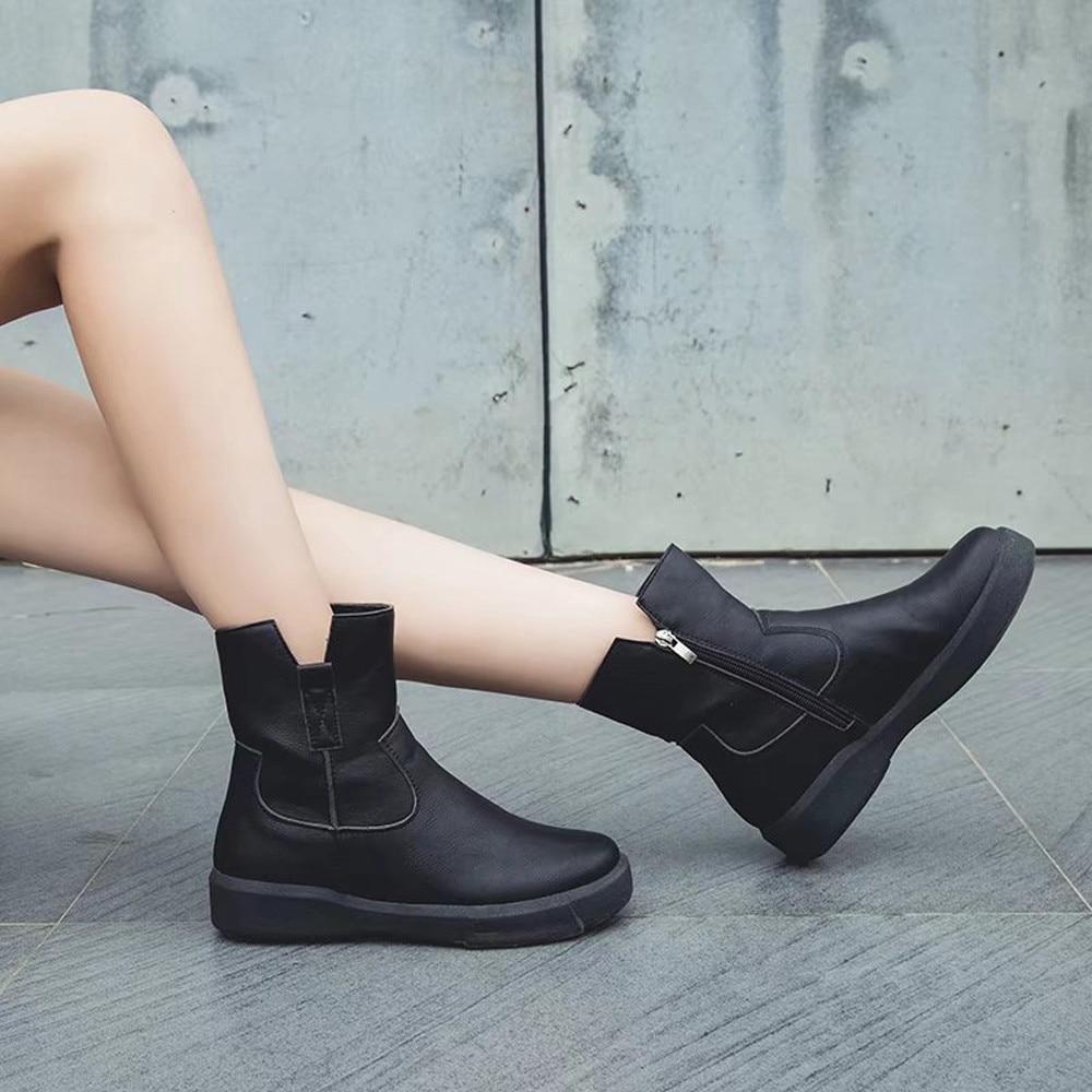 6860c2be Botas-mujeres-Punk-estilo-botas-de -cuero-zip-plana-Martin-botas-tobillo-botas-para-mujeres-botas.jpg