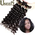 Ali Moda Malaysian Water Wave Malaysian Virgin Hair Loose Deep Wave Virgin Malaysian Curly Hair Weave 3pcs Tangle Free