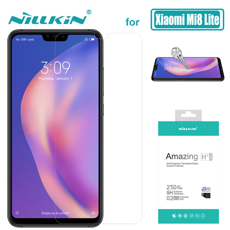 for Xiaomi Mi 9 Mi 8 Lite Mi8 Mi6 Mi9 Mi9T 9H Nillkin Tempered Glass Screen Protector H + Pro For Xiaomi Mi9 Mi8 Mi8 SE Mi 6 9T Pro Glass