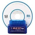 2017 Lowest Factory Price A+++ Quality Super Mini elm327 Bluetooth OBDii / OBD2 Wireless Blue Mini elm327 1pcs V2.1