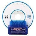 2017 Menor Preço de Fábrica Um +++ Qualidade Super Mini Bluetooth elm327 OBDii/OBD2 Sem Fio Azul de Mini elm327 1 pcs V2.1