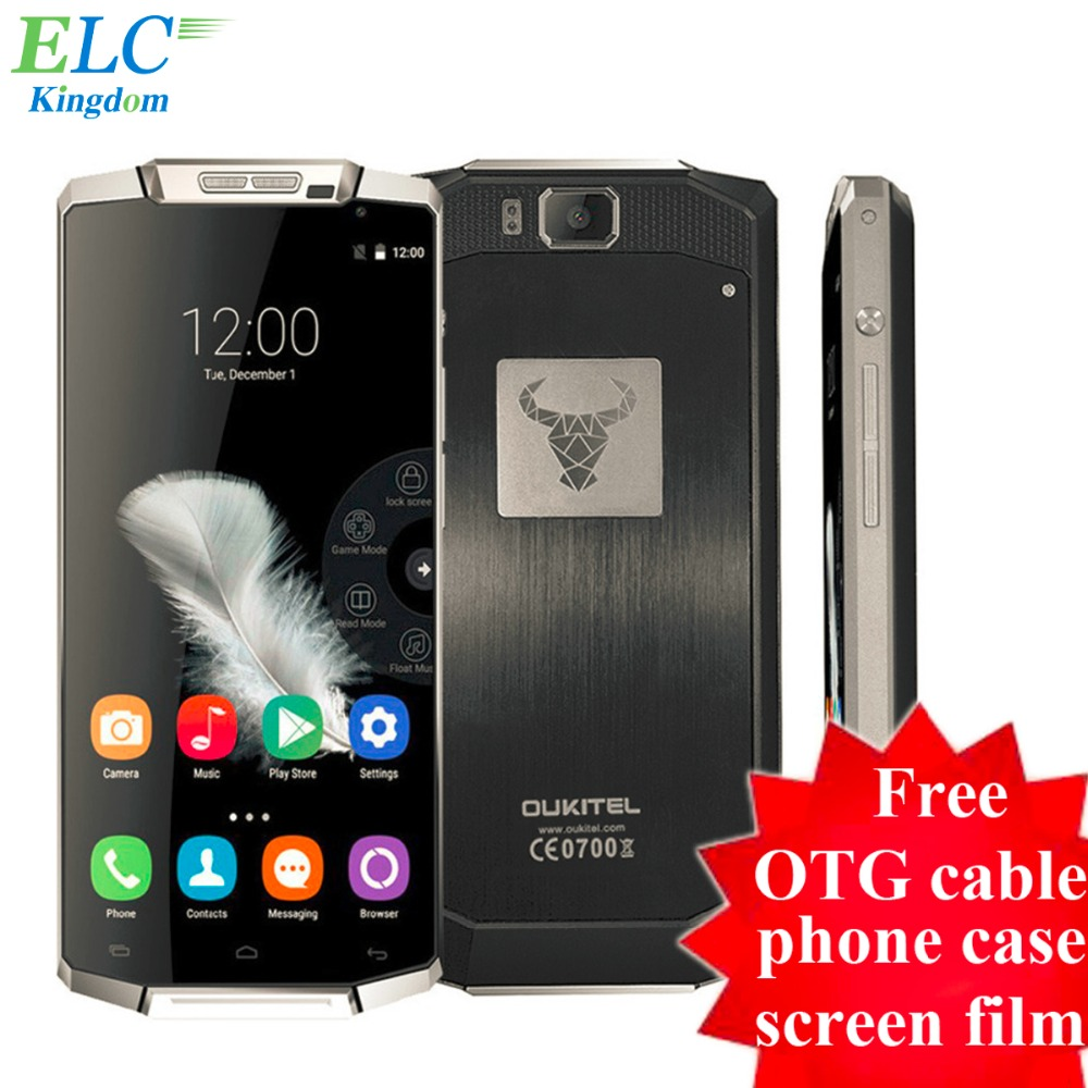 Original Oukitel K10000 4G FDD LTE font b Smartphone b font Android 5 1 Lollipop 5