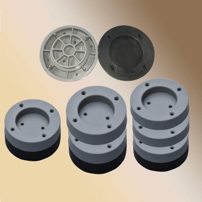 Economical 4 Pcs Washing Machine Refrigerator Mute Rubber Mat Anti Vibration Anti Shock Pad Ds99