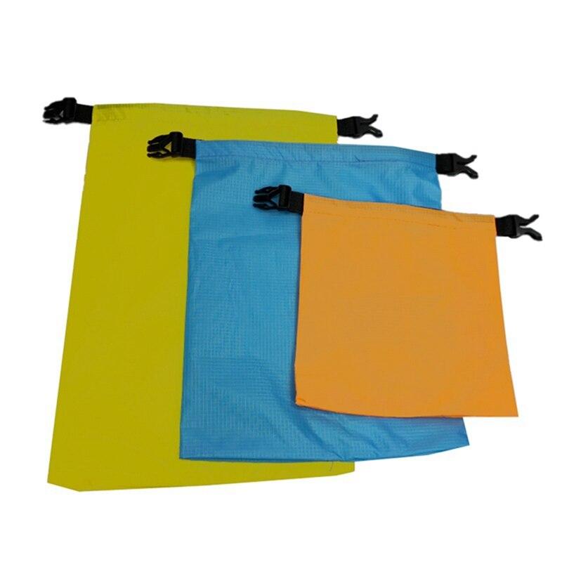 3pcs/set Waterproof River Rafting Swimming Boating Water Resistance Bag Dry Bag Pack 1.5L/2.5L/3L Outdoor Waterproof