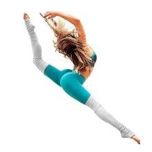 Kobiety Patchwork Spodnie Fitness Joga Spodnie Wysokie Elastyczne Sportu Zawodowego Kobiet Prowadzących Spodnie Legginsy Capris