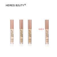 Купить 3 получить 4 бренд HERES B2UTY макияж невесомое полное покрытие матовое покрытие губы свет диффузный пептид Infused 6 цветов
