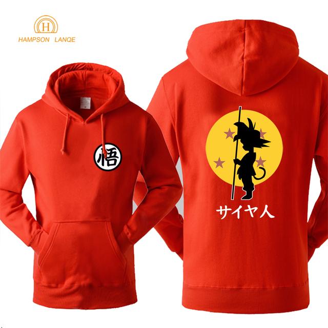 Dragon Ball Autumn Winter Fleece Sweatshirts Hoodie