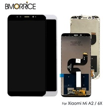 original 5.99 For Xiaomi Mi A2 MIA2 LCD Display Touch Screen Digitizer Assembly for MI 6X MI6x  No/ with Frame