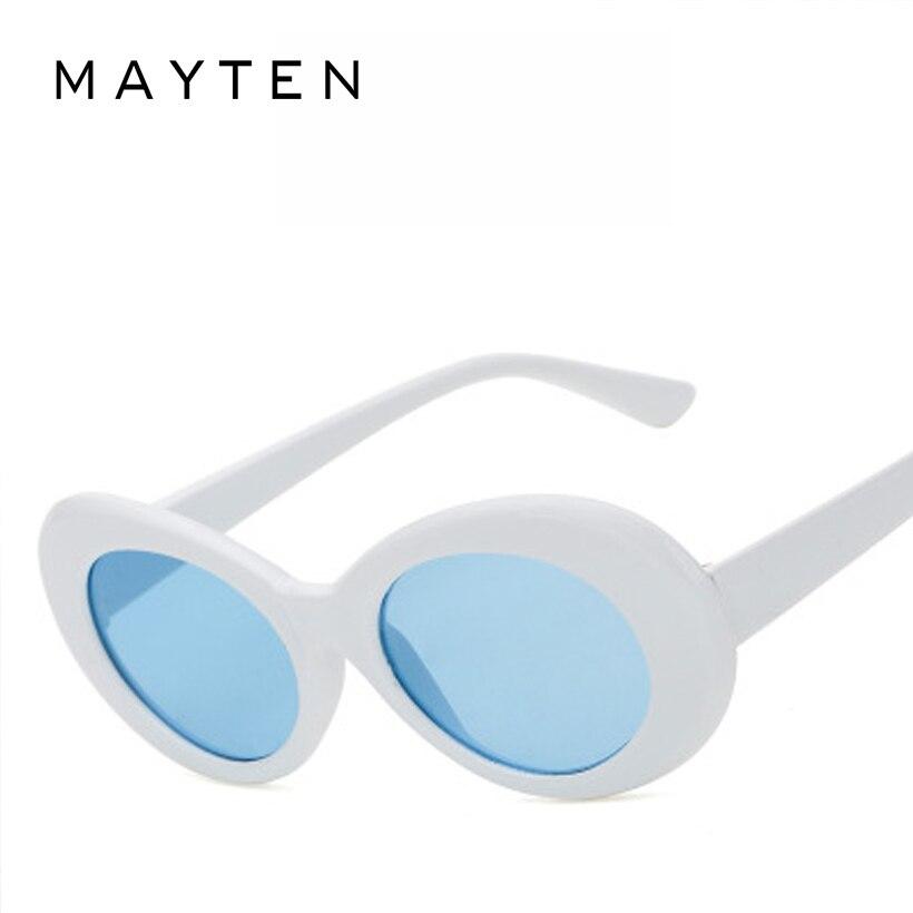 e0784c92e3b MAYTEN Clout Goggles Sunglasses Women NIRVANA Kurt Cobain Glassess Female  Male UV400 Sun Glasses Womens Men Fashion Oval Glasse