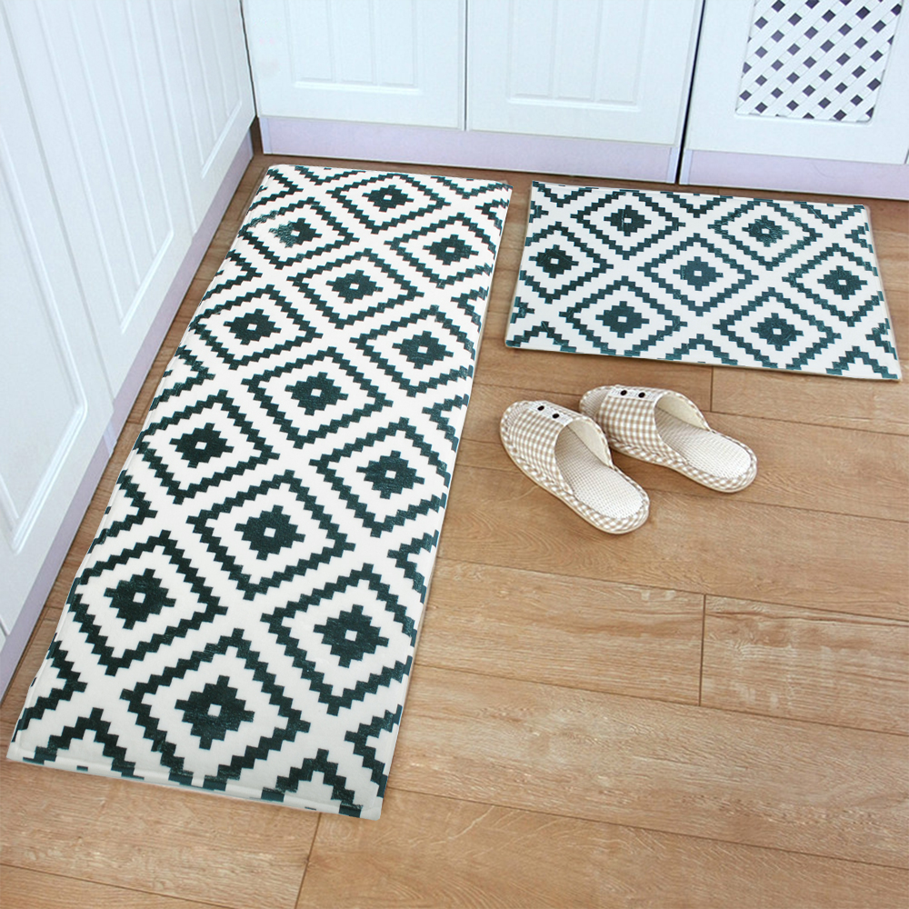 Non Slip Kitchen Floor Mats Aliexpresscom Buy Yazi Hot Mosaic Kitchen Floor Mat Rug Plush