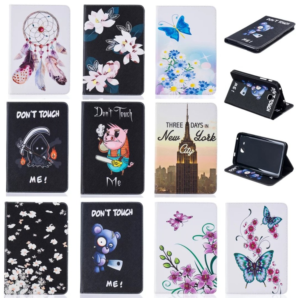 (Slim Fit) Stand Feature) Card Slot Folio Flip PU Leather Case Cover Skin Back Case For Samsung Galaxy Tab A 7.0 SM-T280 SM-T285  slim fit folio flip pu leather case cover skin back case for amazon all new kindle 6 display 8th gen 2016 release