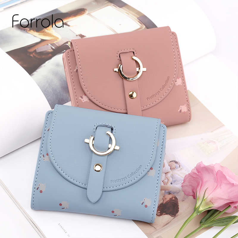 e05fc38edbff Detail Feedback Questions about Female Lovely Short Wallet Leather ...