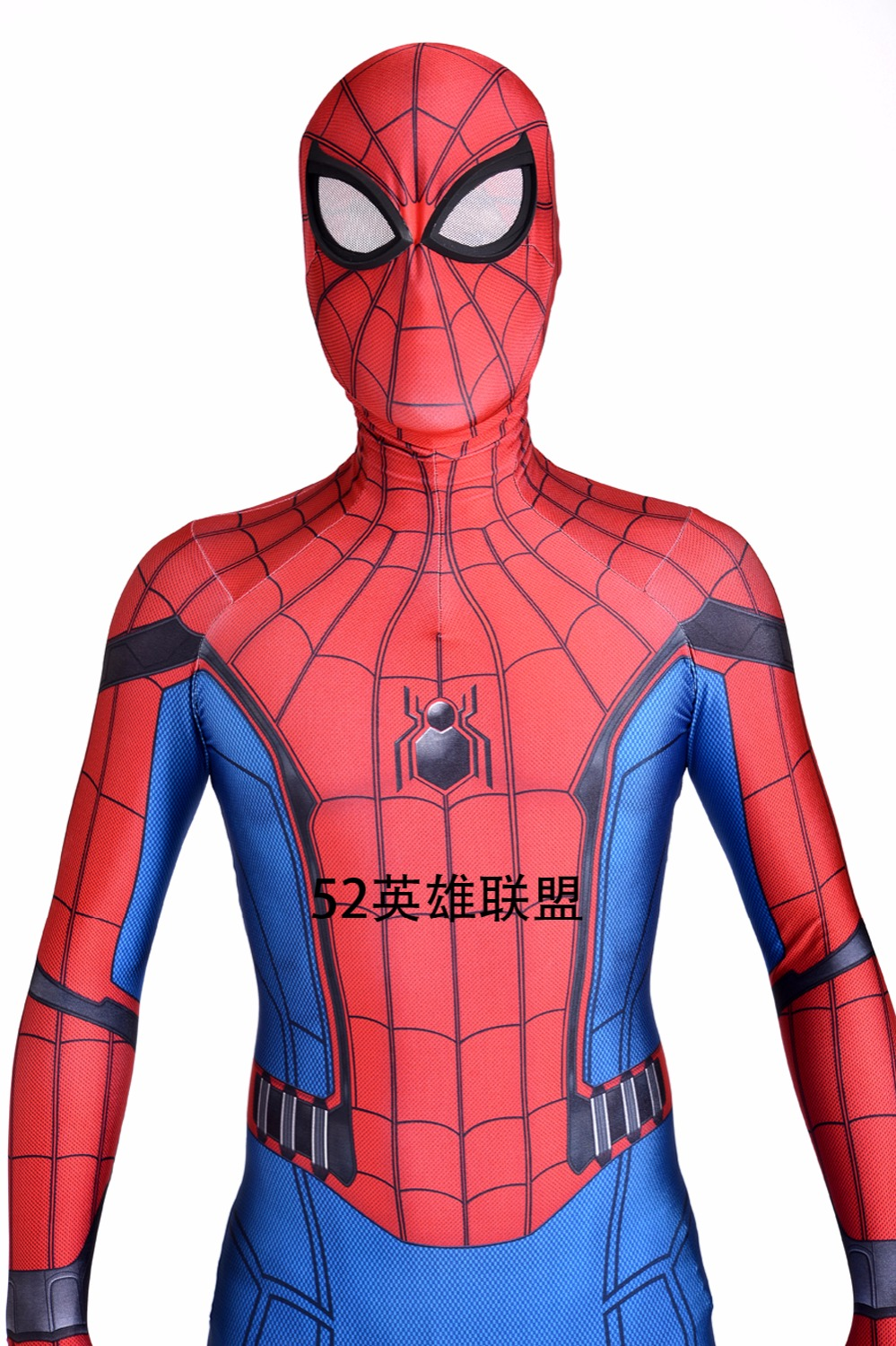 Homecoming Spiderman Costume 2017 Moive Spider-man Costume Halloween Cosplay Costume