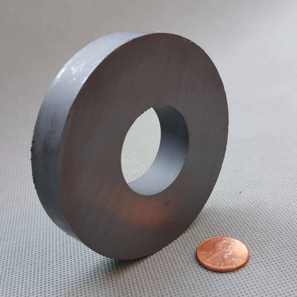 2pcs Ferrite Magnet Ring OD 80x32x15 mm 3.15 for Subwoofer C8 Ceramic Magnets for DIY Loud speaker Sound Box board home use 12 x 1 5mm ferrite magnet discs black 20 pcs