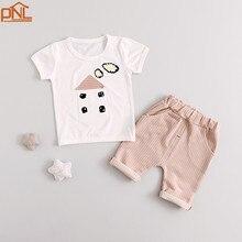 Été Bébé Filles Costumes enfants Vêtements enfants Ensembles T-shirt + Pantalon 2 Pcs Ensembles Enfants Costumes