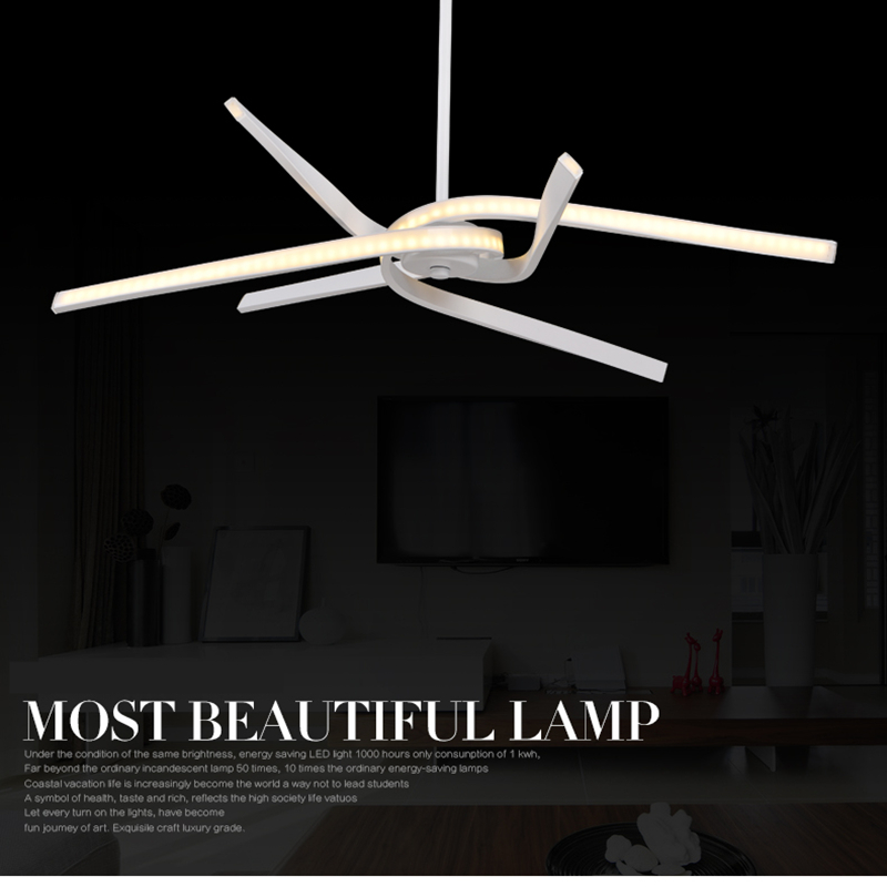 Modern led pendant lights for living dining kitchen room Acrylic hanging suspension luminaire pendant lamp fixture lampadario