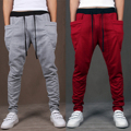 2017 Men Casual Pants Cool Design Moletom Big Pocket Trend AR Brand Clothing Trousers Hip Hop Harem Pants Mens Joggers 8 Colors
