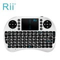 Rii Mini Teclado Sin Hilos i8 2.4 GHz Inglés Touchpad Air Mouse Teclado de Control Remoto Para Android TV Box Portátil Tablet Pc