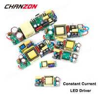 Controlador LED de corriente constante 1W 3W 5W 10W 20W 30W 50W 300mA 450mA 600mA 900mA 1500mA AC transformador de iluminación CC