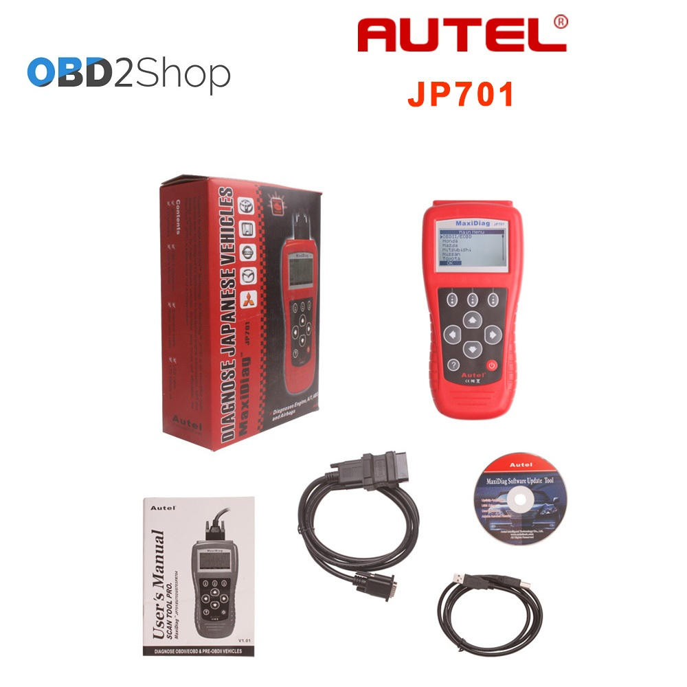 auto code scanner Autel MaxiScan JP701 for japanese cars High quality JP 701 100% original autel maxidiag elite md701 all system ds model obdii auto code reader md 701 for japanese cars