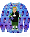 Women Men Harajuku Rap Game Bobby Hill Crewneck Sweatshirt Purple Drank Sexy Sweats King of the Hill  Tops Jumper Hoodies