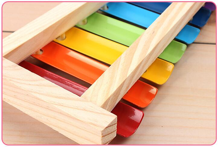 Image 5 - Colorful Children's Musical Instruments Toy Wooden Frame Xylophone Baby Educational Developmental Wooden Toys Gifts GYH-in Toy Musical Instrument from Toys & Hobbies