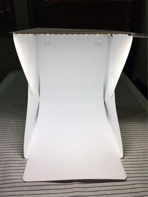 Portable Folding lightbox Photography Photo Studio Softbox Lighting Kit Light box for iPhone Samsang Digital DSLR Camera New